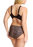 Morgan Banded Bra Ebony
