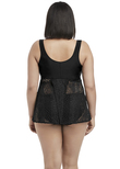 Indie Tankini Top Black